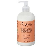 Shea Moisture Conditioner Coconut & Hibiscus Curl & Shine - 13 Fl. Oz.