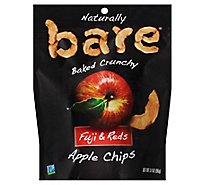 Bare Foods Fuji & Red Apple Chips - 3.4 Oz