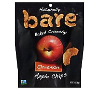 Bare Foods Cinnamon Apple Chips - 3.4 Oz