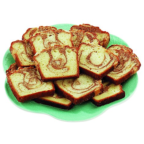 Bakery Cake Loaf Cinnamon Sliced - Each