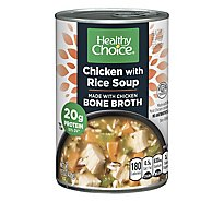Healthy Choice Soup Chicken with Rice - 15 Oz