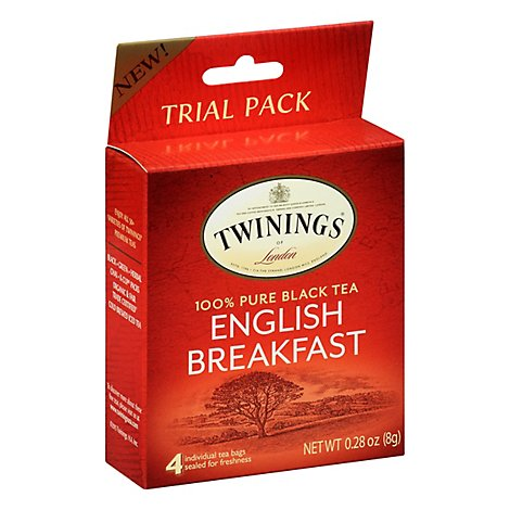 Twinings Tea Pure Black English Breakfast Trial Pack - Count