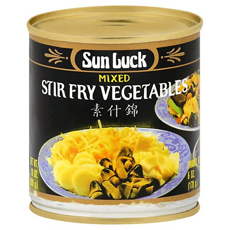 Sun Luck Vegetables Fry - 10 Oz
