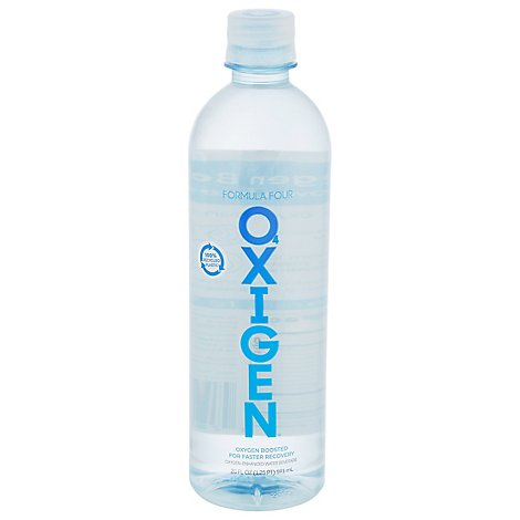 Formula Four Oxigen Water Oxygenated - 20 Fl. Oz.