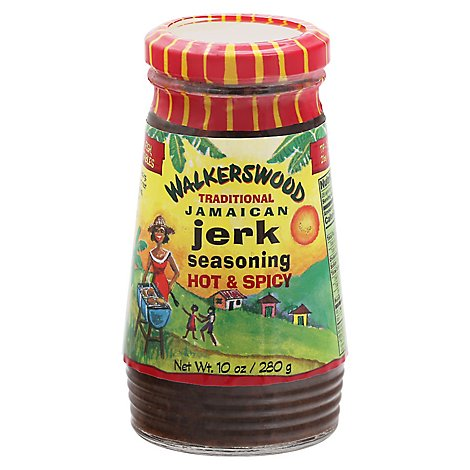 Walkerwood Jerk Hot Spicy - 10 Oz