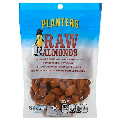 Planters Almonds Raw - 5.5 Oz