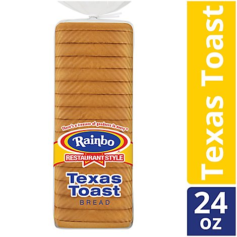 Rainbo Bread Restaurant Style Texas Toast - 24 Oz