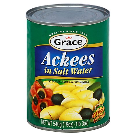 Grace Ackee In Brine - 19 Oz