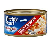 Pacific Pearl Crabmeat Fancy with Leg Pieces - 6 Oz