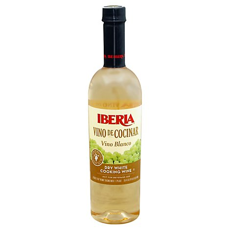 Iberia Vino de Cocinar Cooking Wine White Dry - 25.4 Fl. Oz.