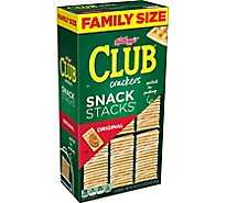 Keebler Club Crackers Original Snack Family Size 9 Stacks - 18.8 Oz