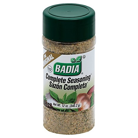Badia Seasoning Complete the Original Bottle - 12 Oz