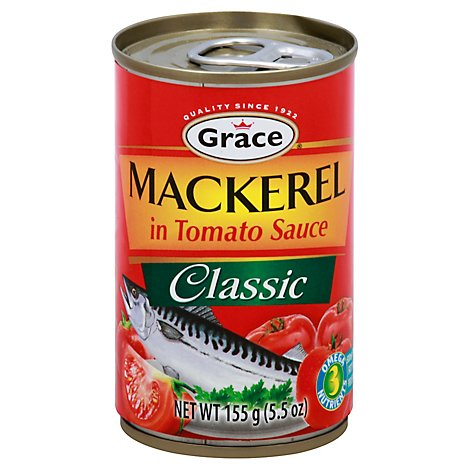 Grace Mackerel in Tomato Sauce - 5.5 Oz