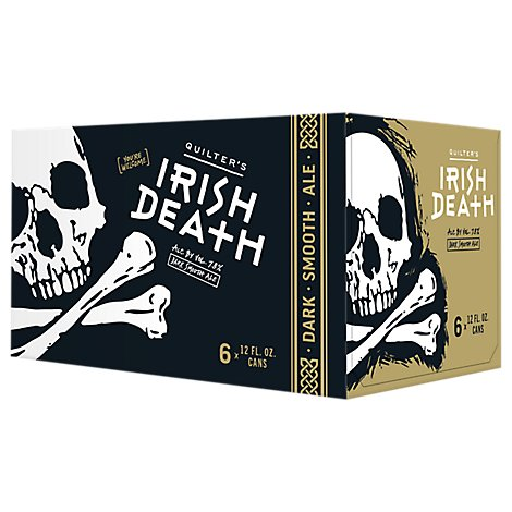 Iron Horse Brewery Beer Irish Death In Cans - 6-12 Fl. Oz.