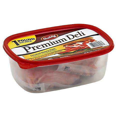 Buddig Ham Honey Premium - 16 Oz