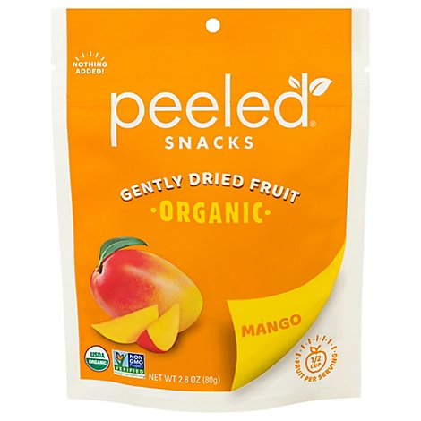 Peeled Organic Snack Dried Mango Much Ado About Mango - 2.8 Oz