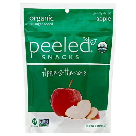 P12led Snacks Snack Apple To The Core Organic - 2.8 Oz