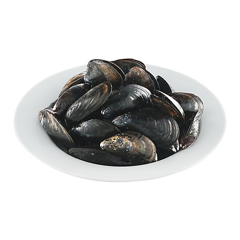 Seafood Service Counter Pei Mussels Organic - 2.5 Lb