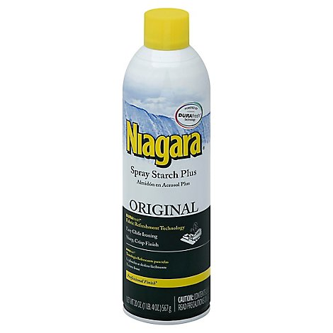 Niagara Spray Starch Plus Original - 20 Fl. Oz.