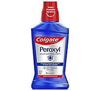 Colgate Peroxyl Mouth Sore Rinse Mild Mint - 16.9 Fl. Oz.