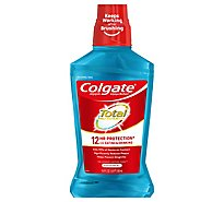 Colgate Total Mouthwash Antigingivitis Antiplaque Peppermint Blast - 16.9 Fl. Oz.