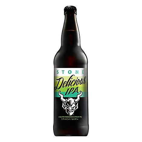 Stone Delicious Ipa In Bottles - 22 Fl. Oz.