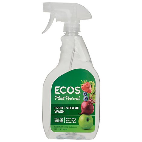 Earth Friendly Fruit & Vegetable Wash - 22 Fl. Oz.