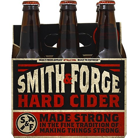 Smith & Forge Hard Cider Bottles 6% ABV - 6-12 Fl. Oz.