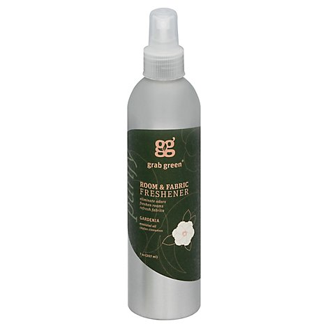 Grab Green Freshener Room & Fabric Purify Gardenia Bottle - 7 Oz