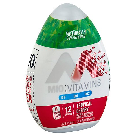 MiO Liquid Water Enhancer Tropical Cherry - 1.62 Fl. Oz.