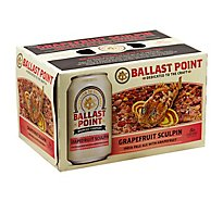 Ballast Point Sculpin Grapefruit IPA Craft Beer Cans 7.0% ABV - 6-12 Fl. Oz.