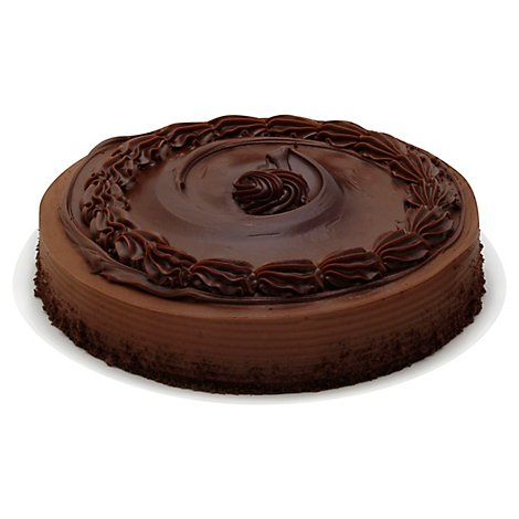 Bakery Cake 1 Layer Chocolate Celebration Enrobed - Each