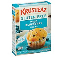 KRUSTEAZ Muffin Mix Supreme Gluten Free Blueberry Box - 15.7 Oz