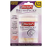 The Doctors Brush Picks - 275 Count