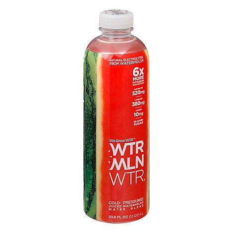 Wtrmln Wtr Juiced Watermelon Cold Pressed - 33.8 Fl. Oz.