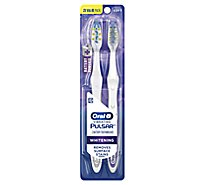 Oral-B 3D White Pulsar Toothbrush Medium Value Pack - 2 Count
