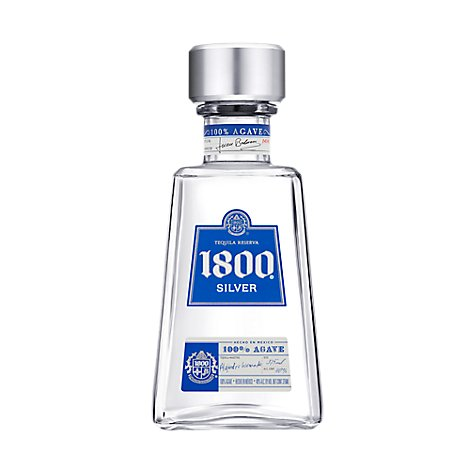 1800 Tequila Silver 80 Proof - 375 Ml