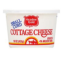 Meadow Gold Small Curd Cottage Cheese - 16 Oz