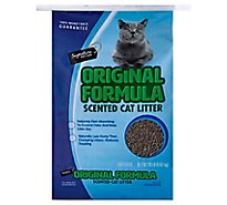 Signature Pet Care Cat Litter Scented Original Formula - 20 Lb