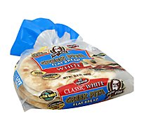 Papa Pita Classic White Greek Pita - 16.8 Oz