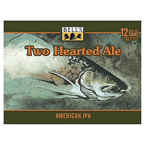 Bells Beer Ale Two Hearted - 12 Fl. Oz.