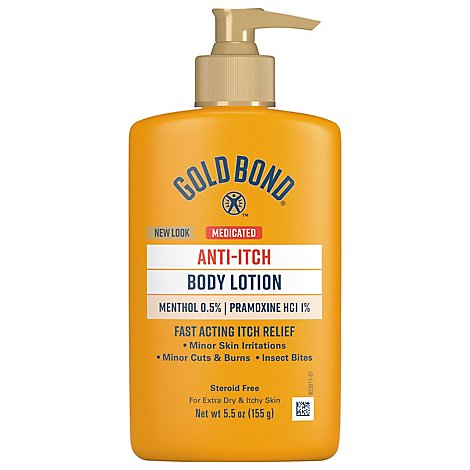 GOLD BOND Anti-Itch Lotion Intensive Relief - 5.5 Fl. Oz.