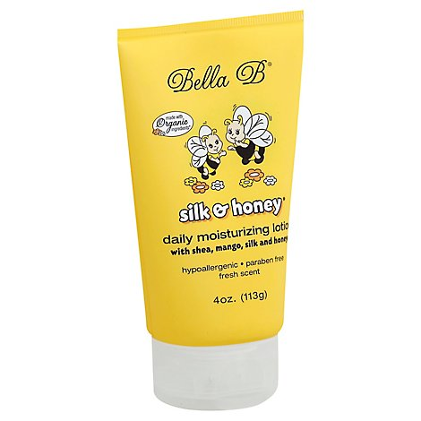 Silk & Honey Baby Lotion Tube - 4 Oz