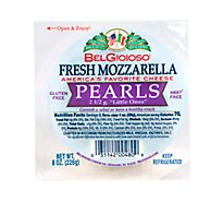 BelGioioso Cheese Mozzarella Fresh Pearls - 8 Oz