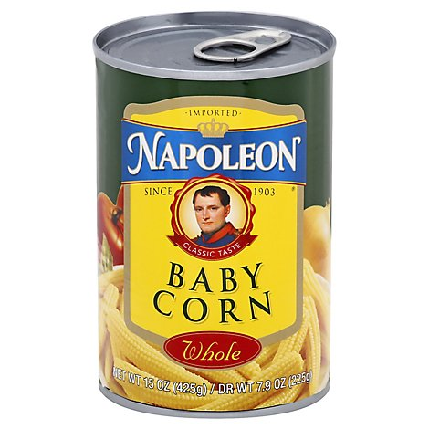 Napoleon Corn Baby Whole - 15 Oz