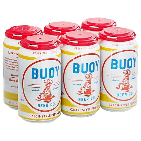 Buoy Czech Pilsner In Bottles - 6-12 Fl. Oz.