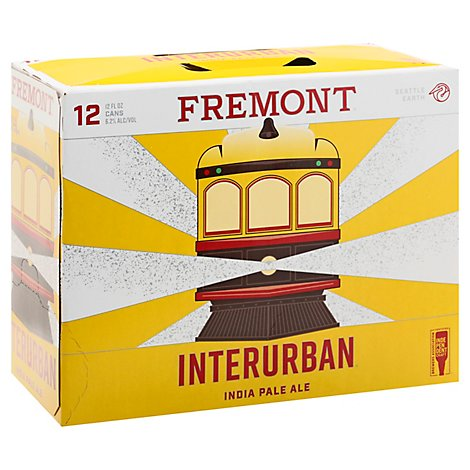 Fremont Brewing Interurban Ipa In Cans - 12-12 Fl. Oz.