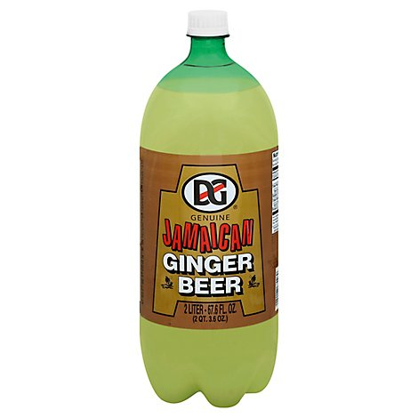 DG Genuine Jamaican Soda Ginger Beer Bottle - 67.6 Fl. Oz.