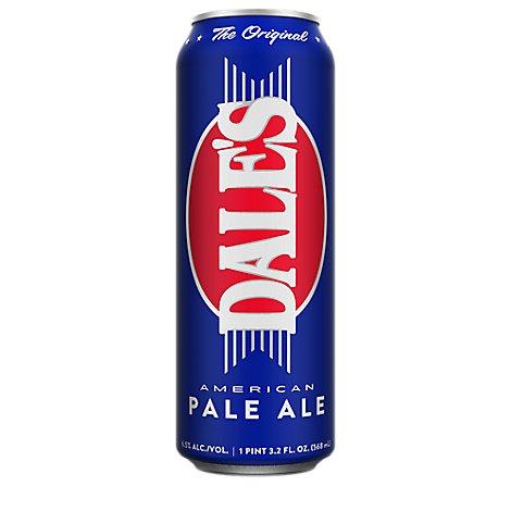 Oskar Blues Dales Pale Ale In Cans 19 2 Fl Oz Tom Thumb