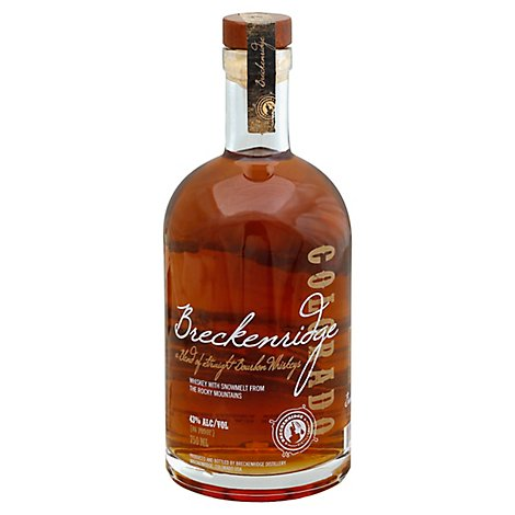 Breckenridge Bourbon 86 Proof - 750 Ml